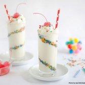 Confetti grelhado marshmallow batido [receita]